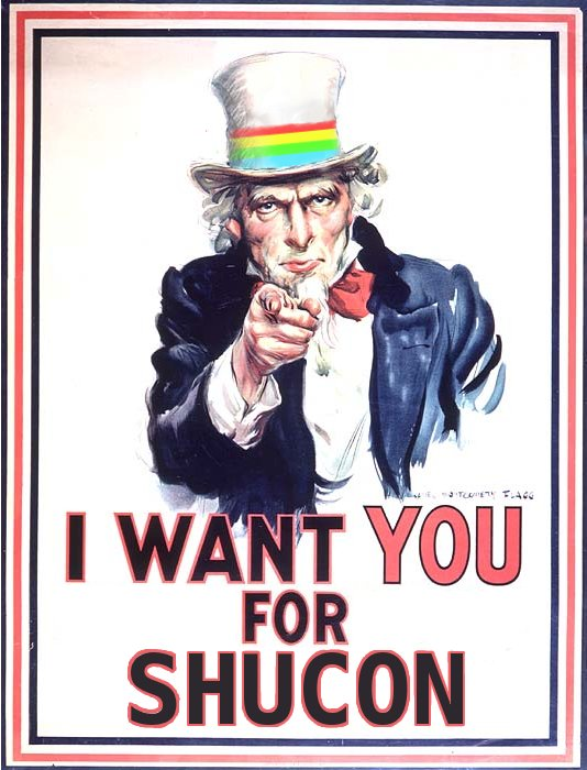 Uncle Hollis want you for Shucon