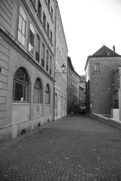 ženevské uličky