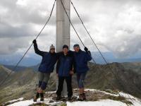 na vrcholu Kreuzeck 2.701 m.n.m