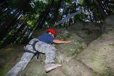 Péťa lezec