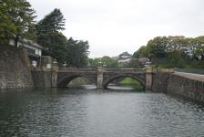 most do císařského paláce v Tokiu