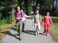 Nobycon's hiking team